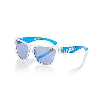 Uvex Clear-Blue Sportstyle 508 Kids Sunglasses