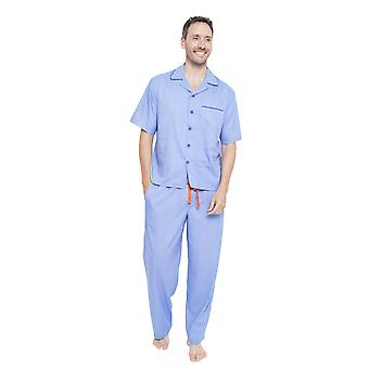Cyberjammies 6348 Men's Oscar Blue Pyjama Pant