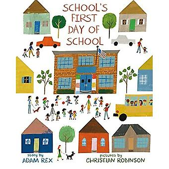 Skolans första dagen i skolan