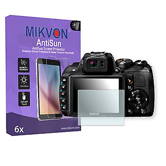 Fujifilm FinePix HS35EXR Screen Protector - Mikvon AntiSun (Retail Package with accessories)
