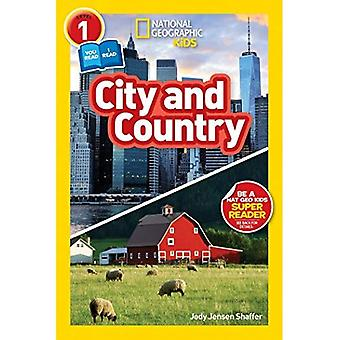 National Geographic Kids Leser: Stadt/Land (National Geographic Kids Leser: Stufe 1) (National Geographic Kids Leser: Stufe 1)