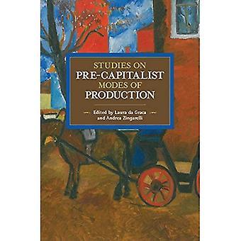 Studies in précapitaliste Modes de Production (matérialisme historique)