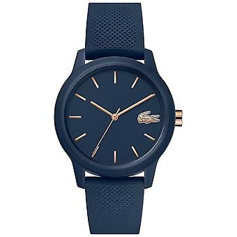 Lacoste | Dame 12 / 12 | Navy silikone strop | Navy Dial | 2001067 ur