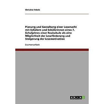 Frderung von Lesebereitschaft Lesefreude und Lesemotivation by Oebels & Christine