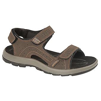 Mens Sports Sandals Lightweight Touch Fastening 3 Strap Shoes