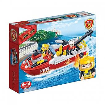 BanBao Interlocking Blocks Fire Boat 7105 (198 Pcs)