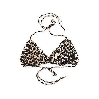 Bikini de nylon Ganni Leopard