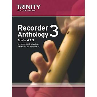Recorder Anthology (Grades 4-5) - Book 1 - Score & Part by Trinity Coll