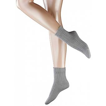 Bett von Falke Socken - hellgrau