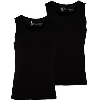 Reebok 2-Pack Sports Performance Vests, Black