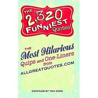 2 320 Citations les plus drôles