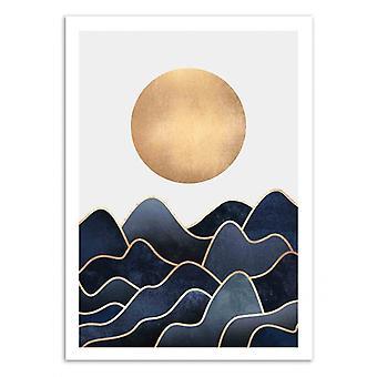 Art-Poster - Waves - Elisabeth Fredriksson 50 x 70 cm