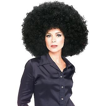 Super Afro Jumbo her schwarze 1960er-1970er Jahren 1980er Jahren Hippie Disco Männer Frauen Kostüm Perücke