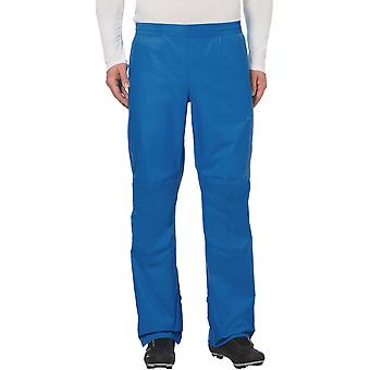 Vaude Drop Biking Rain Pants II - Radiate Blue