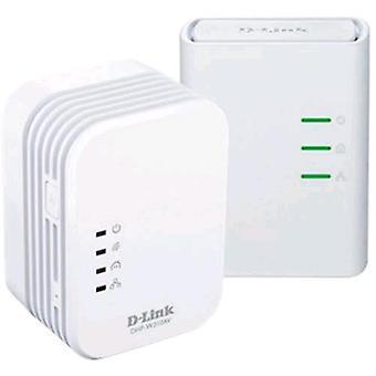 Adaptador Ethernet D-link dhp-w311av para red eléctrica blanca de 500 mbps