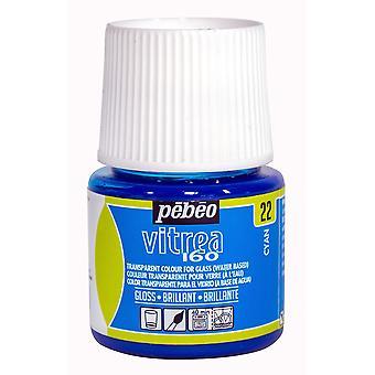 Pebeo Vitrea 160 Water-Based Permanent Glass Paint 45ml