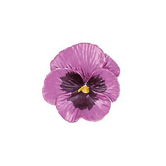 Eternal Collection Pansy Perfezione Rosa Smalto Tono Brooch
