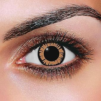 Big Eye Dolly Eye Hazel Contact Lenses (Pair)