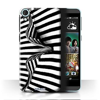 STUFF4 Case/Cover for HTC Desire 820s Dual/Fork/Stripes/Abstract Art