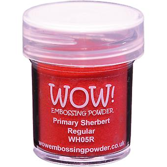 Wow! Embossing Powder 15Ml Primary Sherbert Wow Wh05r