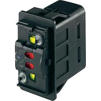 Auto interruptor 12 VCC 10 A 1 x On/(On) momentáneo Marquardt 3250.0160 IP66/IP67 1 PC
