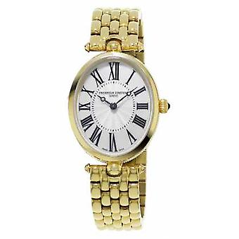 Frederique Constant Classics Art Deco Womens Yellow Gold Plated Mother Of Pearl FC-200MPW2V5B Watch
