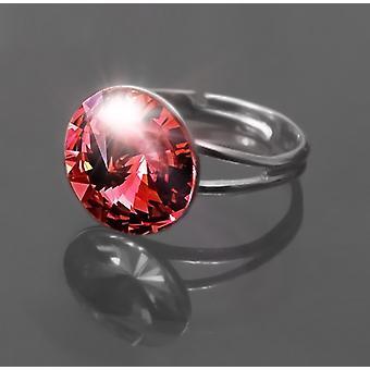 Anillo con rojo cristal RMB 1.5