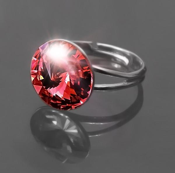 Ring med röd Crystal RMB 1,5