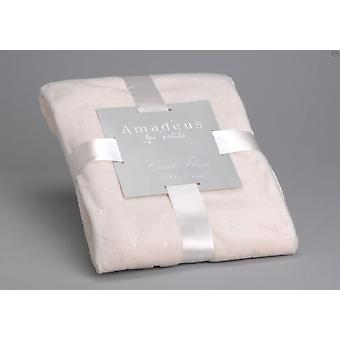 Amadeus Star Cream Blanket (Home , Textile , Blankets)