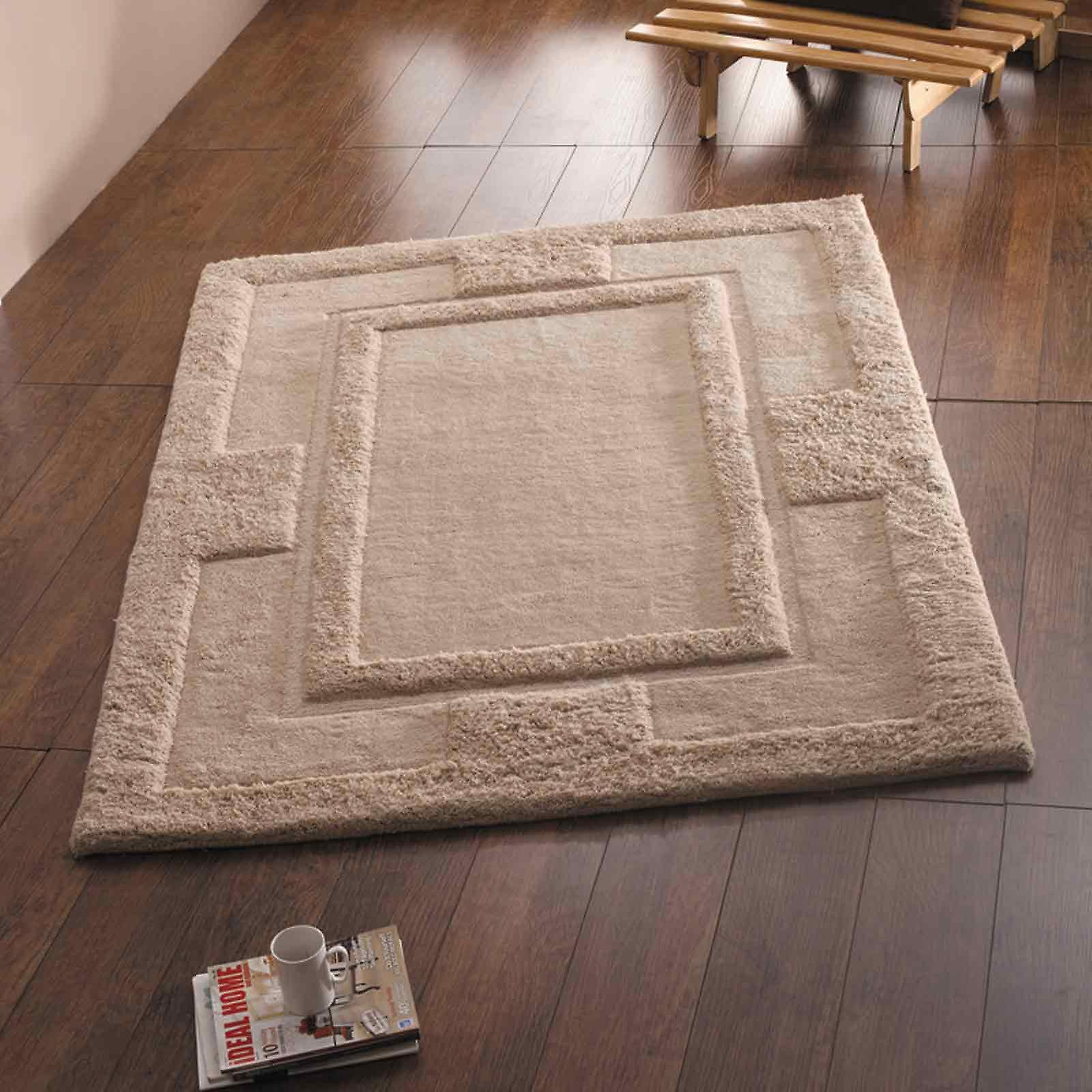 Sierra Apollo Rugs In Beige - Pure Wool
