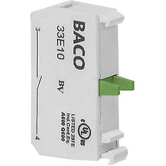Contact 1 breaker momentary 600 V BACO 33E01C 1 pc(s)