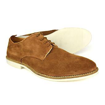 لندن شارع فضة دالستون أحذية جلدية تان رجالي عارضة