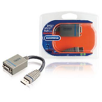 Bandridge Displayport to VGA Adapter 0.2M