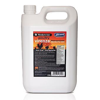 Jvp Virenza Poultry Disinfectant 5ltr