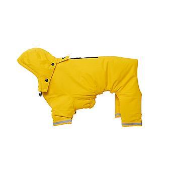 Buster Aqua Rain Coat Yellow Small/medium
