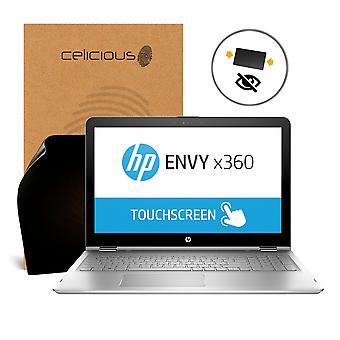 Celicious Privacy HP ENVY x360 15 AQ101NA 2-Way Visual Black Out Screen Protector
