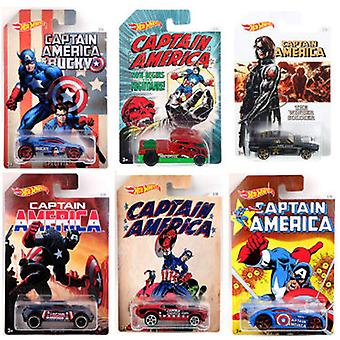 Hot Wheels Vehicle assortments Captain America