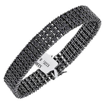 Iced out bling high quality strap - FULL BLACK