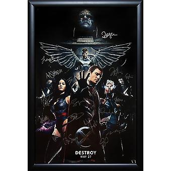 X-Men Apocalypse - Signed Movie Poster