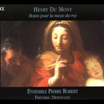 H. du Mont - Henry Du Mont: Motetter Pour La Messe Du Roy [CD] USA import