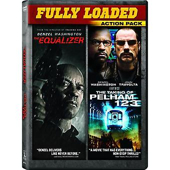Equalizer / Taking of Pelham 1 2 3 [DVD] USA import