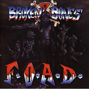 Brækkede knogler - F.O.a.D. [CD] USA importerer