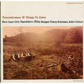 New Lost City Ramblers - Remembrance of Things to Come [CD] USA import