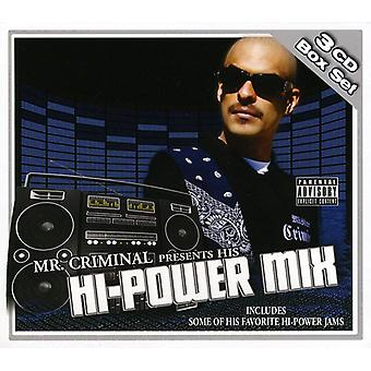 Mr. Criminal Presents - Hi Power Mix Box Set [CD] USA import