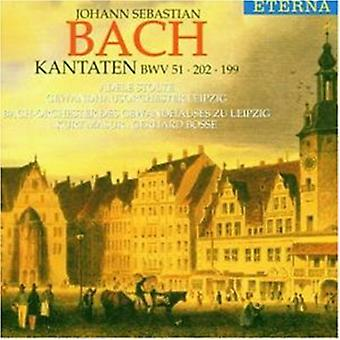 J.S. Bach - Bach: Cantatas Bwv 51 202 199 [CD] USA import