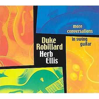 Robillard/Ellis - flere samtaler i Swing Guitar [CD] USA import