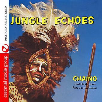 Chaino y Safari Africano de percusión - ecos de la selva [CD] USA importar