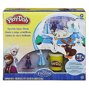Disney congelés Play-Doh Sparkle Snow Dome