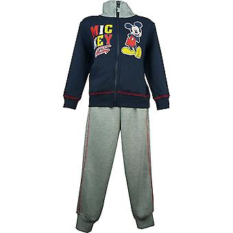 Boys Disney Mickey Mouse Tracksuit Jogging Suit HO1023