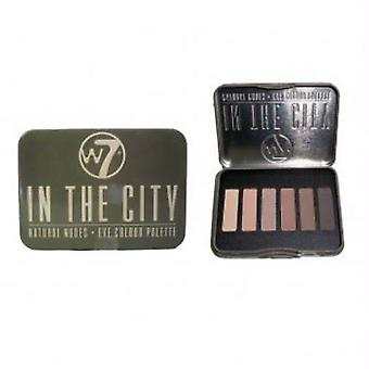 W7 Natural Nudes Eye Colour Palette, In the City